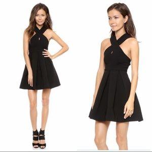 AQ/AQ   Black Maverick Mini Dress